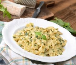 Pasta mit Gorgonzolasauce